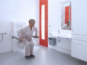 Bano sta-op-toilet