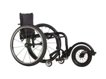 Freewheel RDMobility-zwart aan rolstoel
