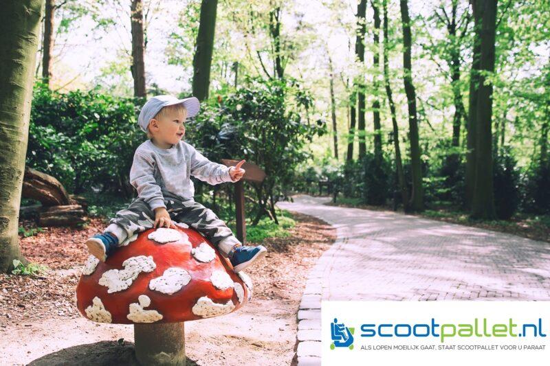Kind_in_Efeteling_-op_paddestoel_Scootpallet_Onbeperkt_leven