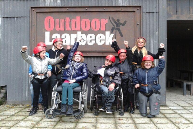 Outdoor Laarbeek groep deelnemers