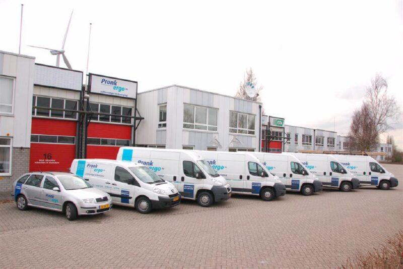 Pronk ergo bedrijfswagens voor bedrijf