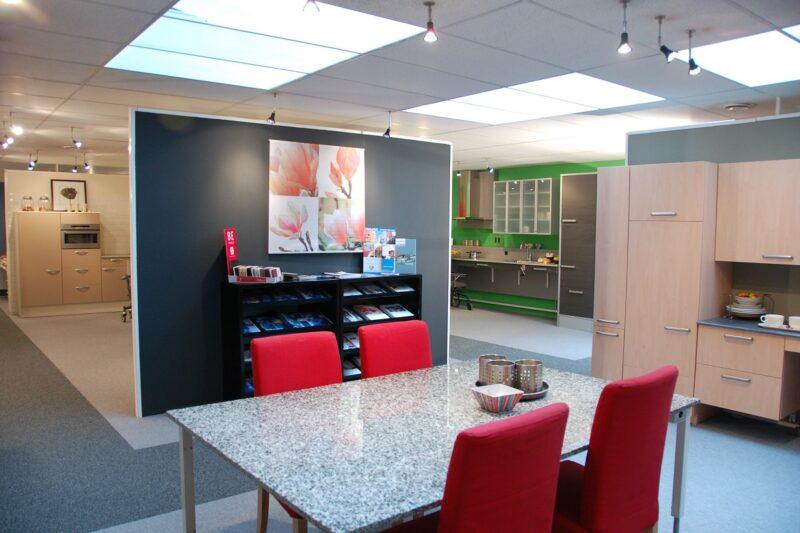 Showroom met ergonomische keukens Pronk ergo