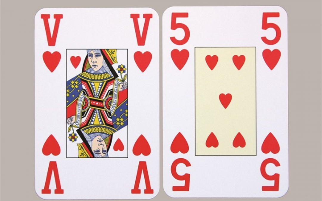 Speelkaarten type Jumbo, van € 9,95 voor € 8,95 bij Worldwide Vision