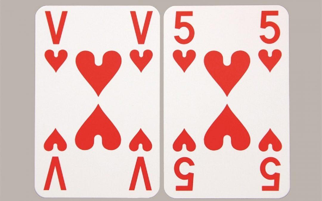 Speelkaarten extra visible, van € 9,95 voor € 8,95 bij Worldwide Vision