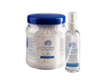 Zechsal-Magnesiumolie-en-voetenbad