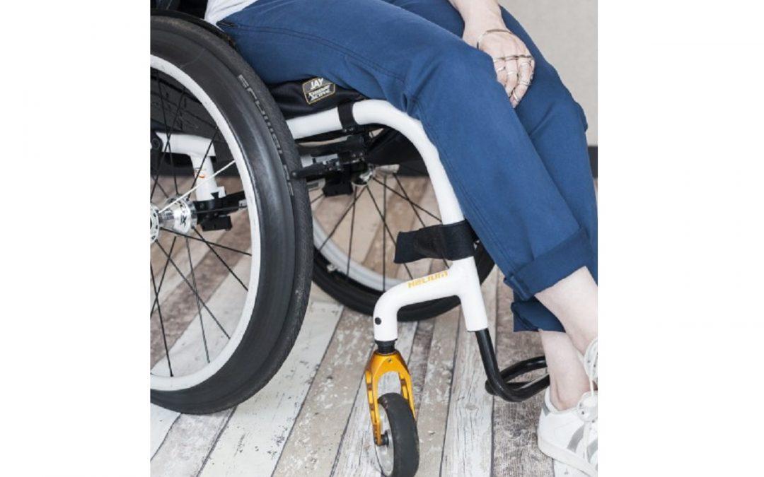 10% korting op de Bentley Zipper dames-rolstoelbroek van BE IT BY JENN