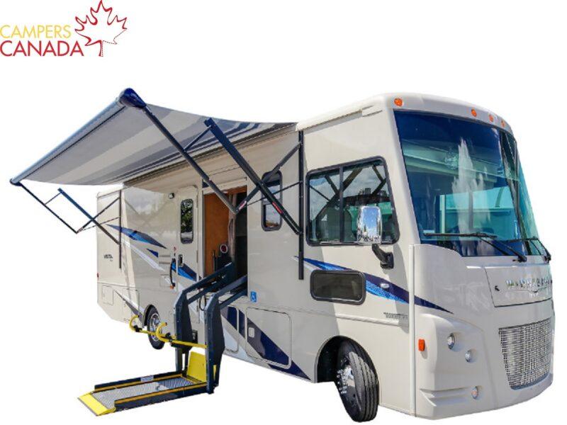 Exterieur-Fraserway-A-Class-rolstoel-camper-Campers-Canada-korting-Onbeperkt-leven-1