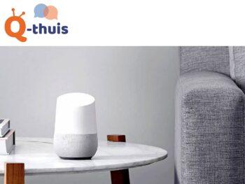 Google_home_Q_Thuis_korting_Onbeperkt_leven